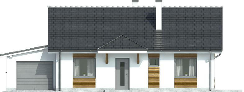 Projekt domu DM-6546 - elewacja
