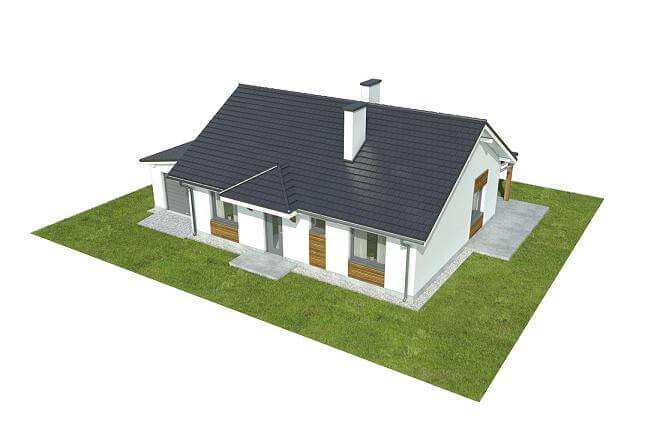 Projekt domu DM-6546 - model