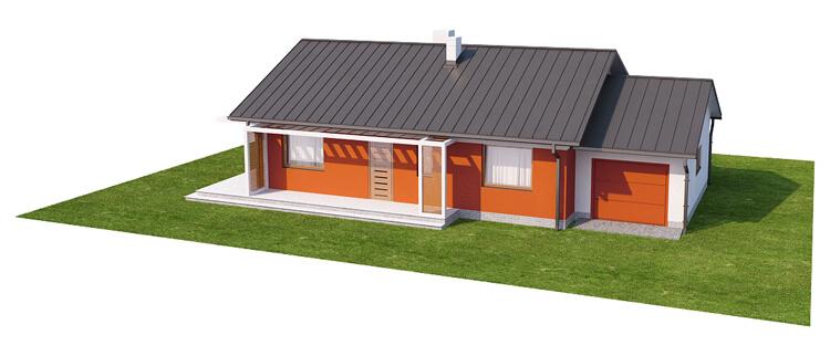 Projekt domu DM-6570 - model