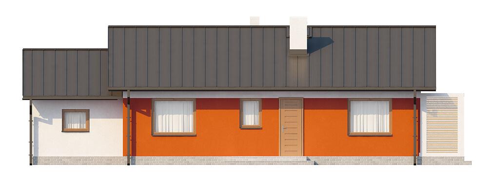 Projekt domu DM-6570 - elewacja