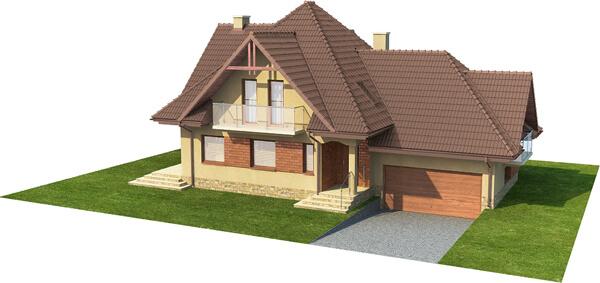 Projekt domu DM-6571 - model
