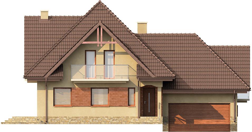 Projekt domu DM-6571 - elewacja