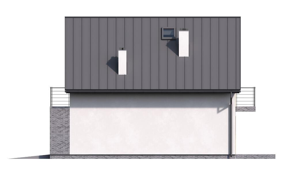 Projekt domu DM-6545 - elewacja
