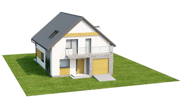 Projekt domu DM-6545 - model