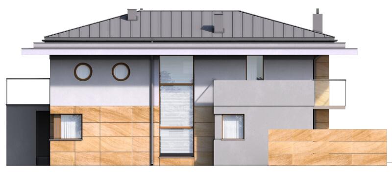 Projekt domu DM-6543 - elewacja
