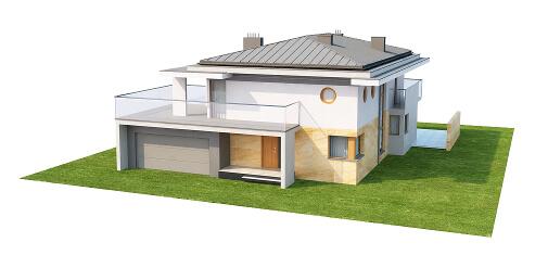 Projekt domu DM-6543 - model