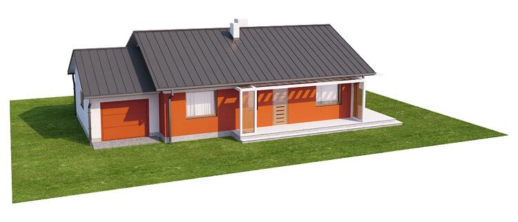 Projekt domu L-6570 - model
