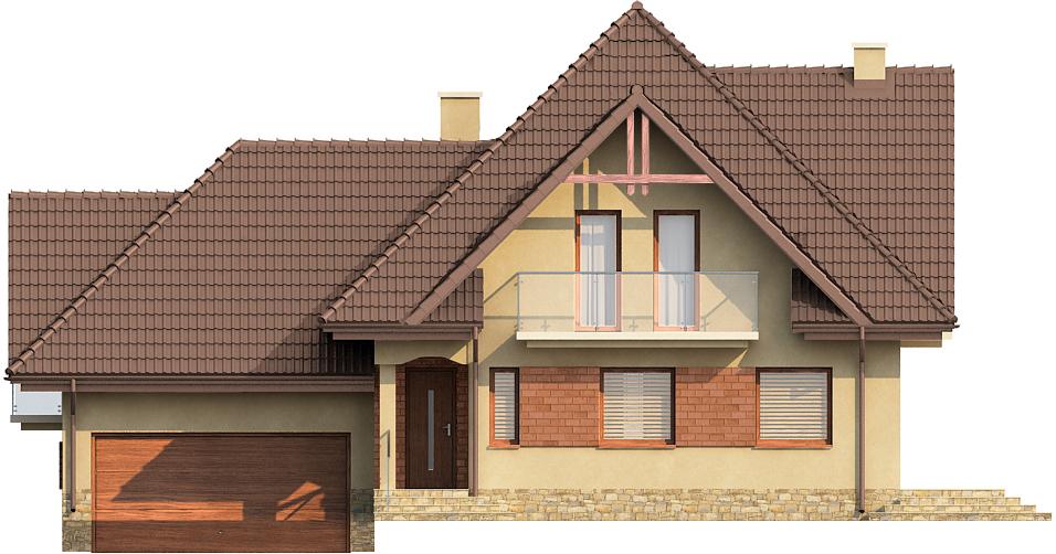 Projekt domu L-6571 - elewacja