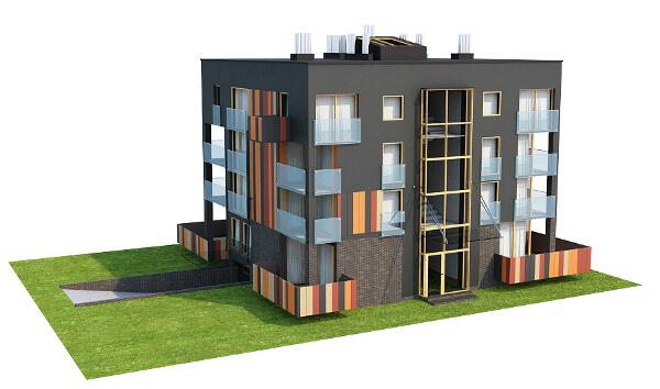 Projekt domu DM-6549 - model