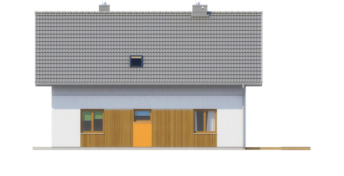 Projekt domu DM-6544 - elewacja