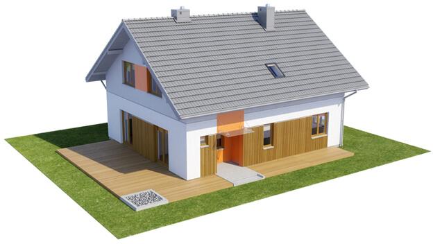 Projekt domu DM-6544 - model