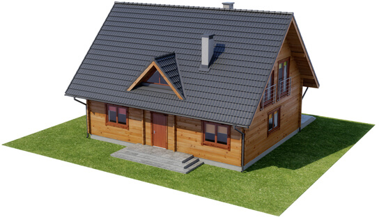 Projekt domu DM-6542 - model