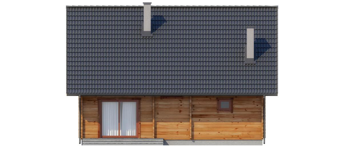 Projekt domu DM-6542 - elewacja