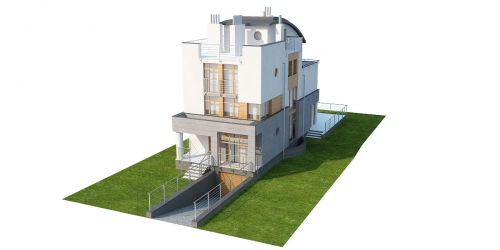 Projekt domu DM-6195 - model