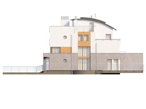 Projekt domu DM-6195 - elewacja