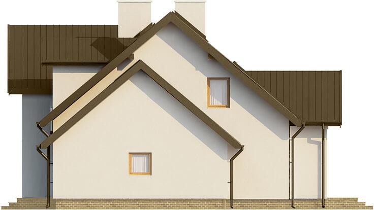 Projekt domu DM-6573 - elewacja