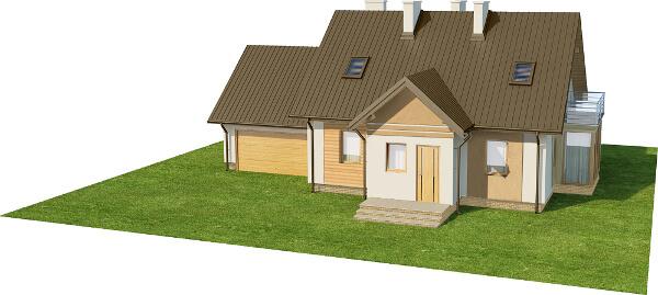 Projekt domu DM-6573 - model
