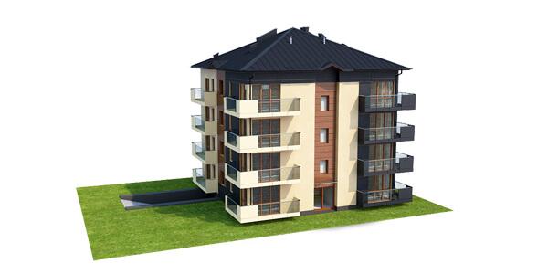 Projekt domu DM-6496 B - model