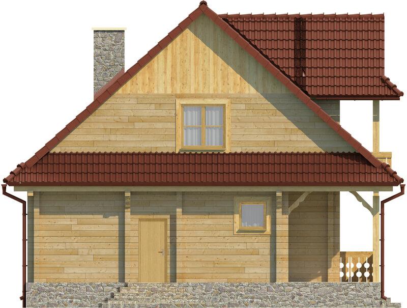 Projekt domu DM-6575 - elewacja