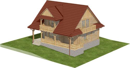 Projekt domu DM-6575 - model