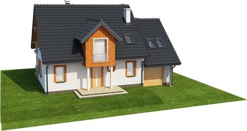Projekt domu DM-6574 - model