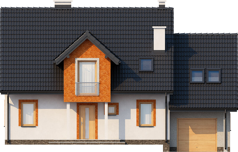 Projekt domu DM-6574 - elewacja