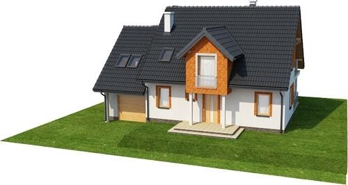 Projekt domu L-6574 - model
