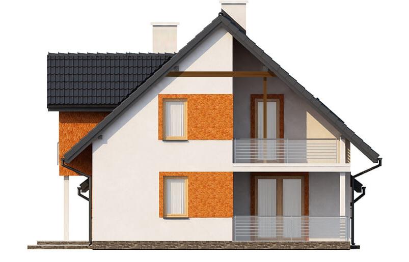 Projekt domu L-6574 - elewacja