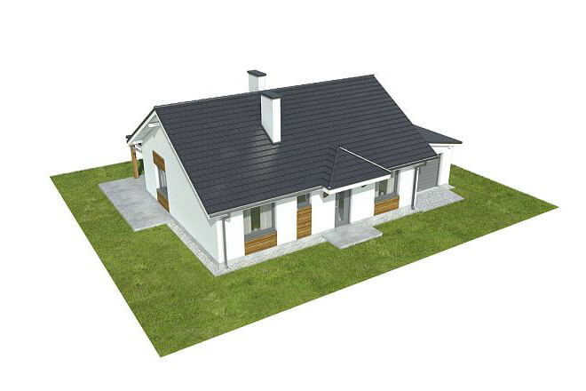 Projekt domu L-6546 - model