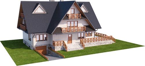 Projekt domu L-6551 - model