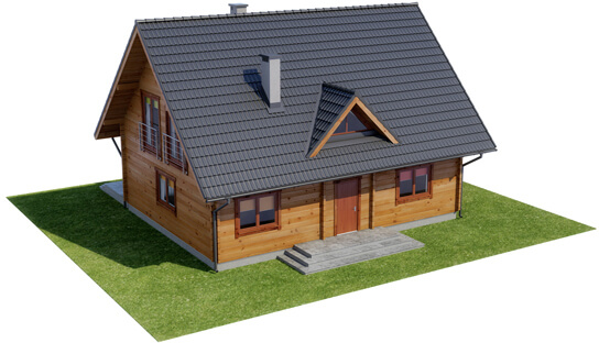 Projekt domu L-6542 - model