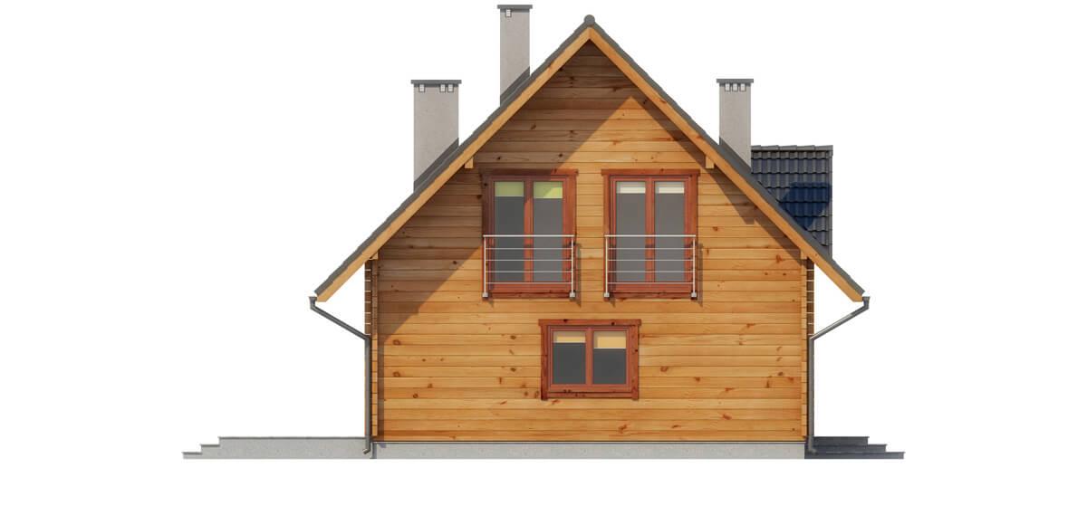 Projekt domu L-6542 - elewacja
