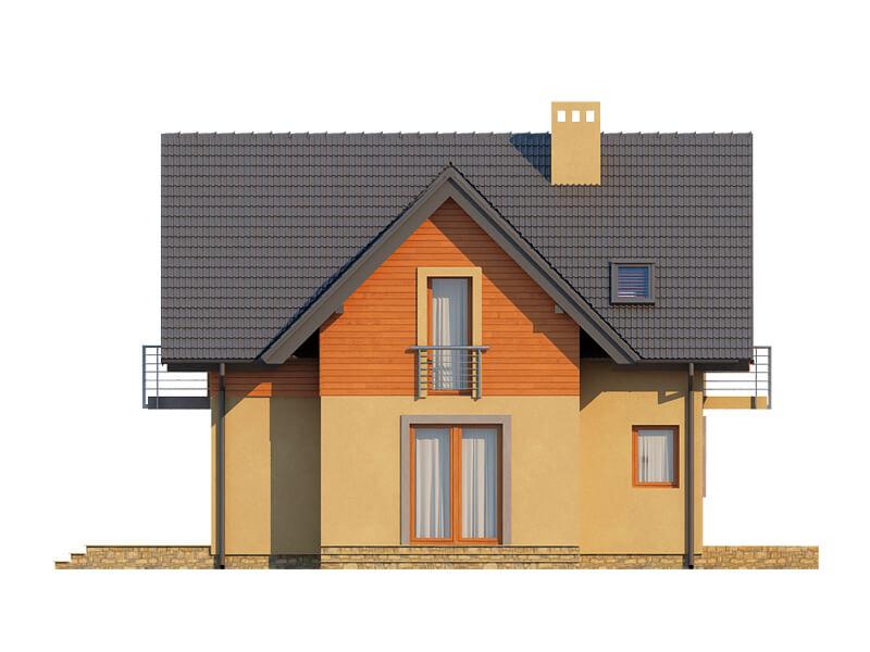 Projekt domu DM-6576 - elewacja