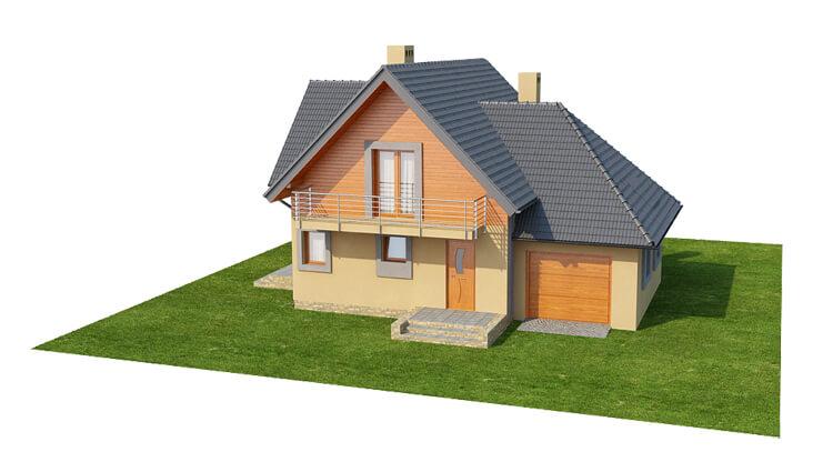 Projekt domu DM-6576 - model