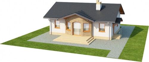 Projekt domu DM-6196 - model