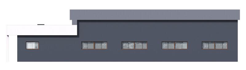 Projekt LK-73 - elewacja