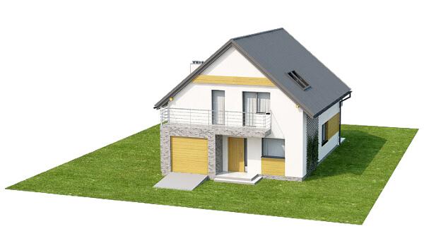 Projekt domu L-6545 - model