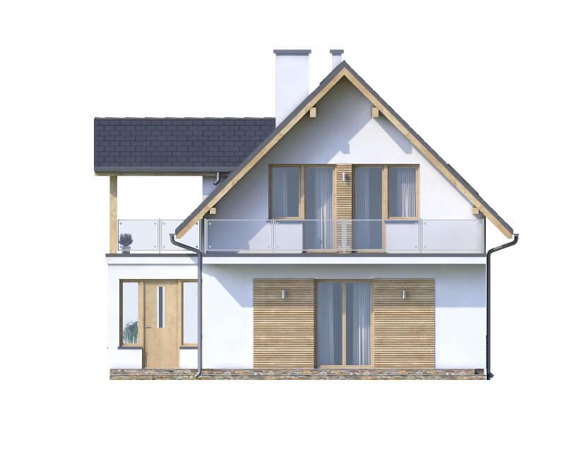 Projekt domu L-6559 - elewacja