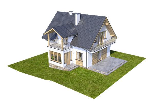 Projekt domu L-6559 - model
