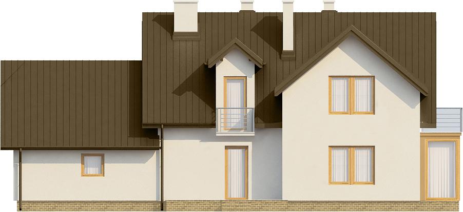 Projekt domu L-6573 - elewacja