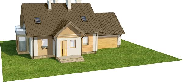 Projekt domu L-6573 - model