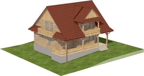 Projekt domu L-6575 - model