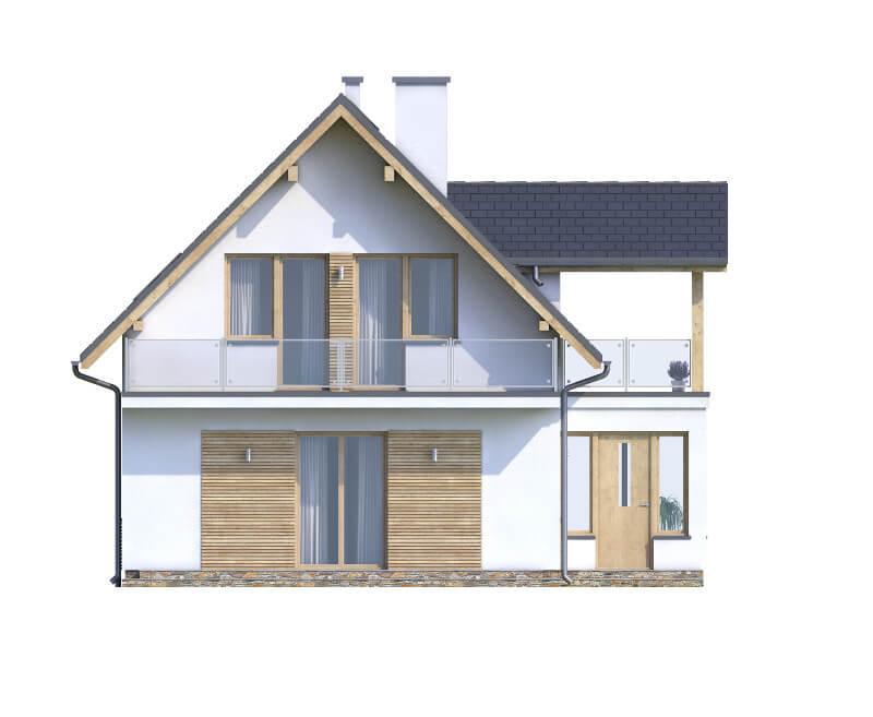 Projekt domu DM-6559 - elewacja