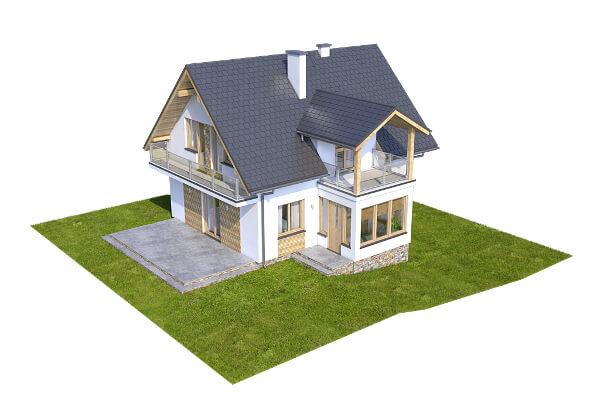 Projekt domu DM-6559 - model