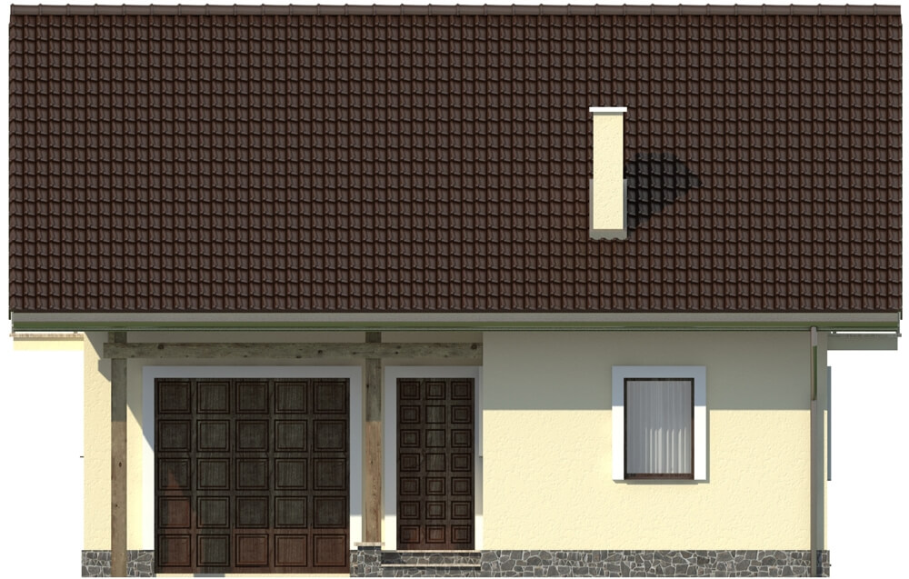 Projekt domu DM-6197 - elewacja