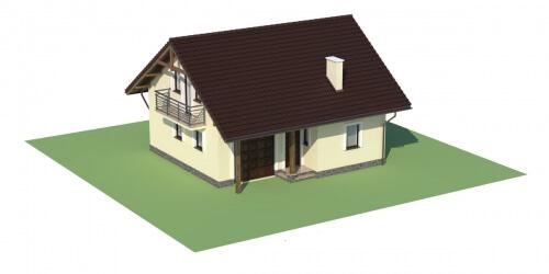 Projekt domu DM-6197 - model