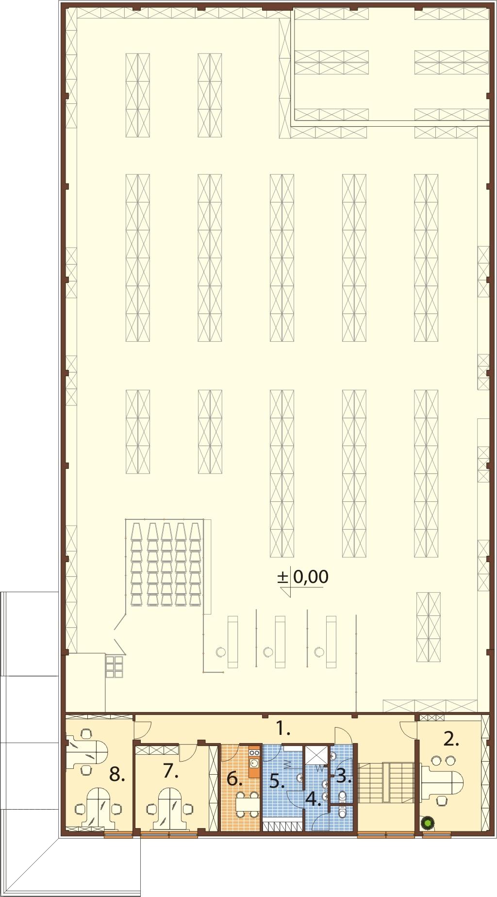 Projekt LK-78 - rzut