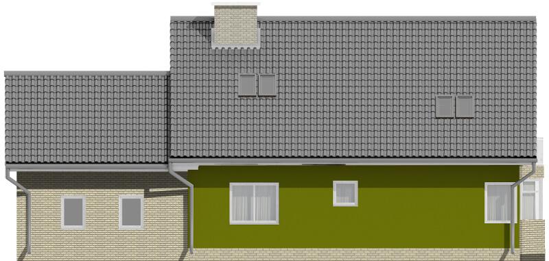 Projekt domu DM-6577 - elewacja