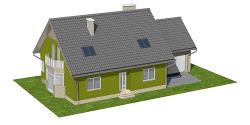 Projekt domu DM-6577 - model