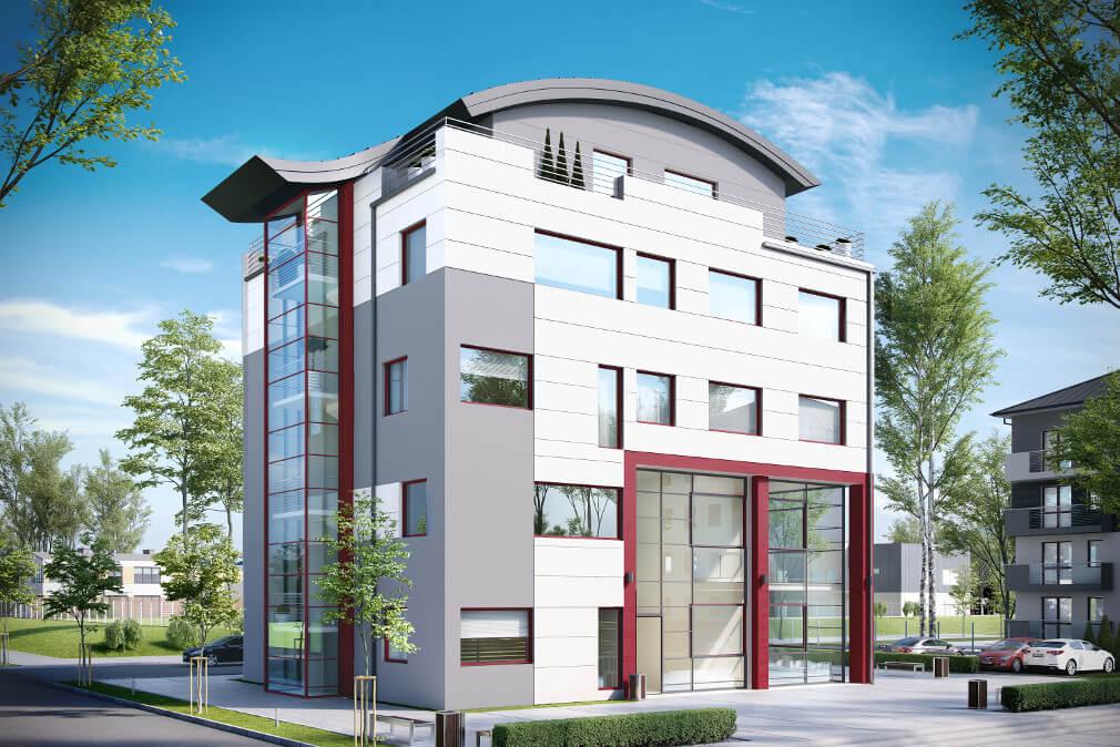 Projekt Biurowiec K 75 Pow Uż 99364 M2 Biuro Architektoniczne